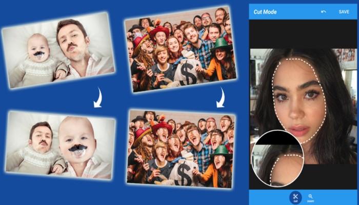 Cupace la app para cambiar cara de hombre a mujer