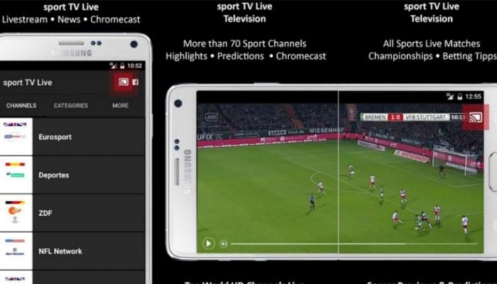 Las mejores aplicaciones para ver fútbol gratis para iPhonese
