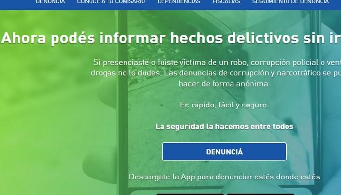 disponible la aplicación móvil para denuncias anónimas