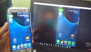 apps para ver la pantalla del móvil en la pc