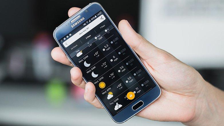 mejor app de tiempo para android