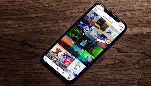 Opciones que ofrece la app Fast Save for Instagram