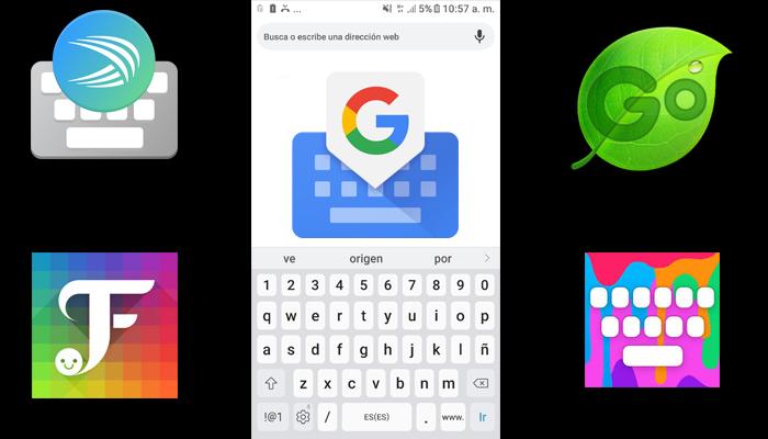 aplicaciones de teclados para celular
