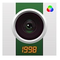 1998Cam otra de  las  mejores apps para hacer fotos Tumblr