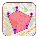 Medición de área GPS