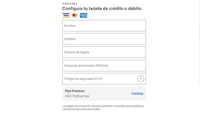 Pasos detallados para crear una cuenta netflix