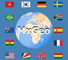 Mundo atlas & Mapamundi MxGeo