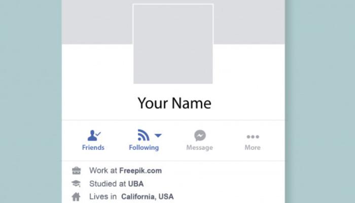 tu nombre de facebook