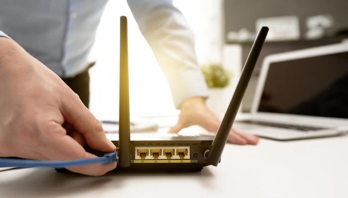 como configurar un router