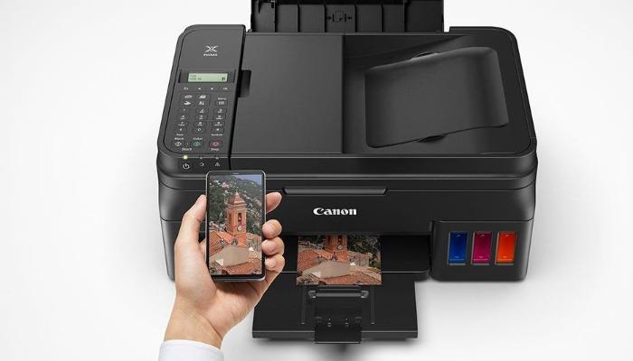 configura una impresora