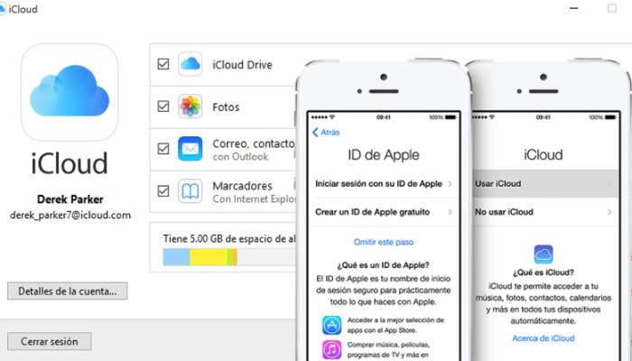 crea un ide en apple para icloud