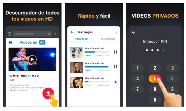 Descargador de Videos HD-1