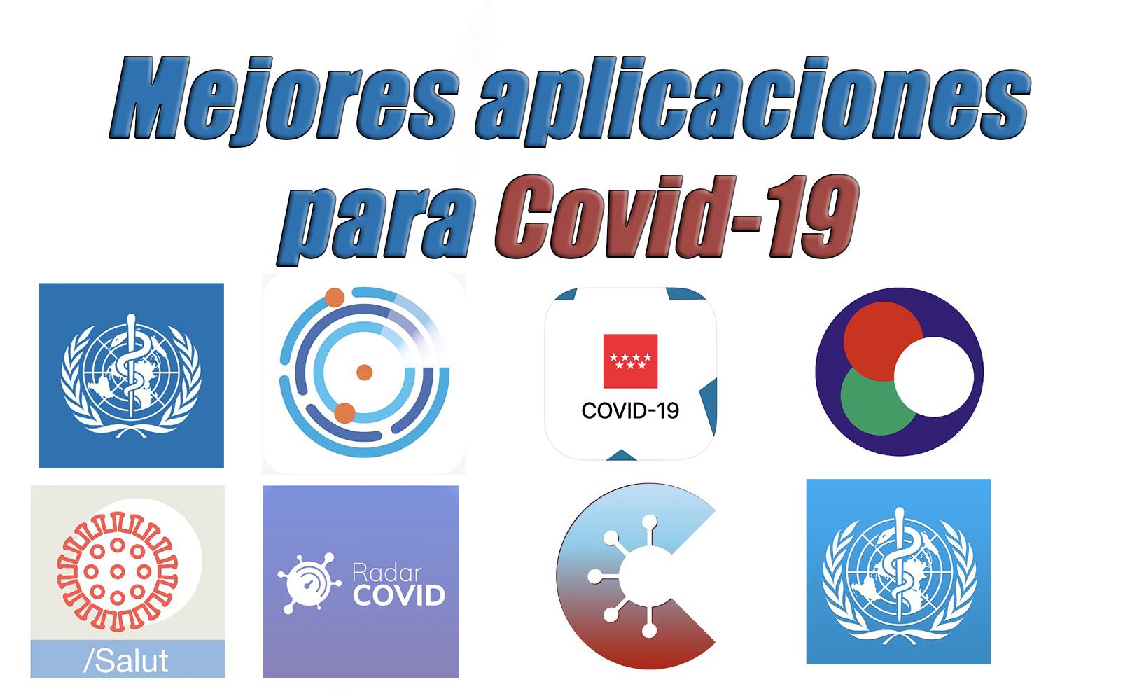mejores aplicaciones para covid19