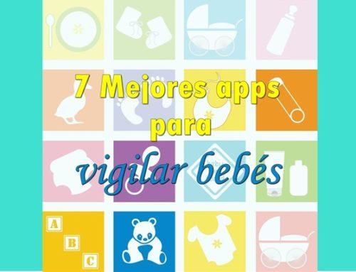 7 Mejores apps para vigilar bebés