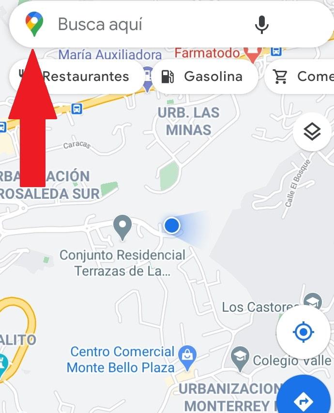 Ver historial de ubicaciones Google maps