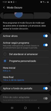como activar el modo oscuro whatsapp en android ajustar modo oscuro