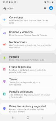 como activar el modo oscuro whatsapp en android ir a pantalla en ajustes