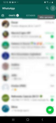 como activar el modo oscuro whatsapp en android mas opciones whatsapp