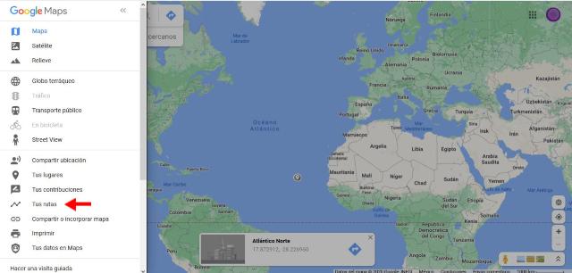 como ver el historial de ubicaciones de google maps de forma sencilla seleccionar tus rutas