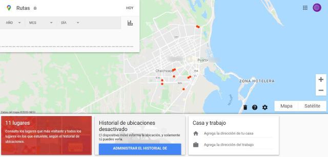 como ver el historial de ubicaciones de google maps de forma sencilla ver tus rutas