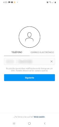 Ingresa tu numero de telefono