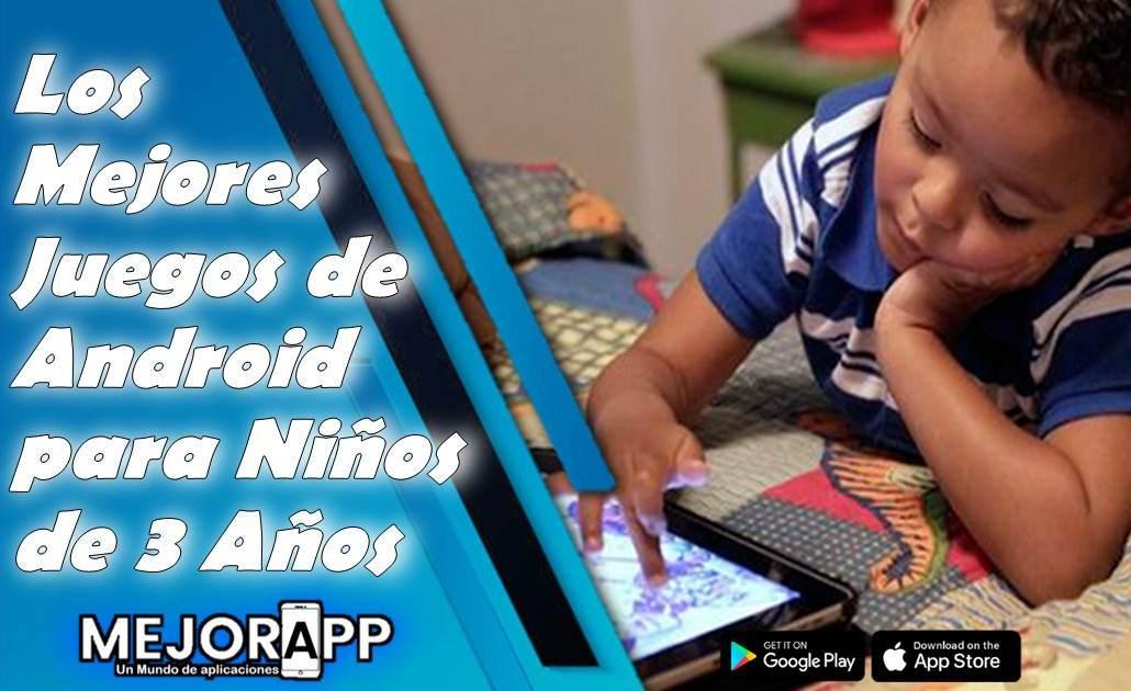 Juegos de Android para Niños de 3 Años