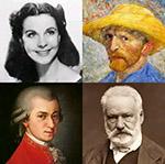 Las personas famosas