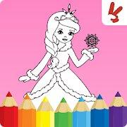 Libro para colorear para niños Princesas