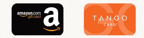 Tarjeta de regalo de Amazon (Giftcard) y Tarjeta de regalo de Tango