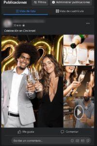 subir videos y fotos a la vez en Facebook