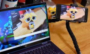 utilizar el móvil como webcam