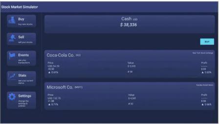 Stock Market Simulator de NyxCore